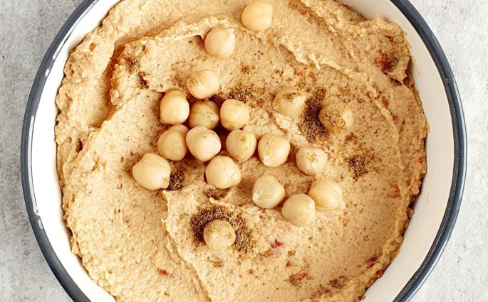 hummus z garam masala