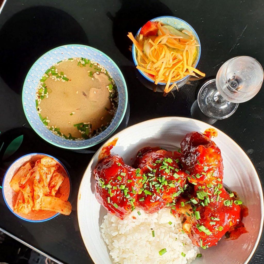 koreańskie jedzenie w warszawie K-Bar