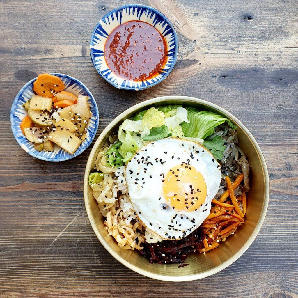 bibimbab w Koreanka Grill