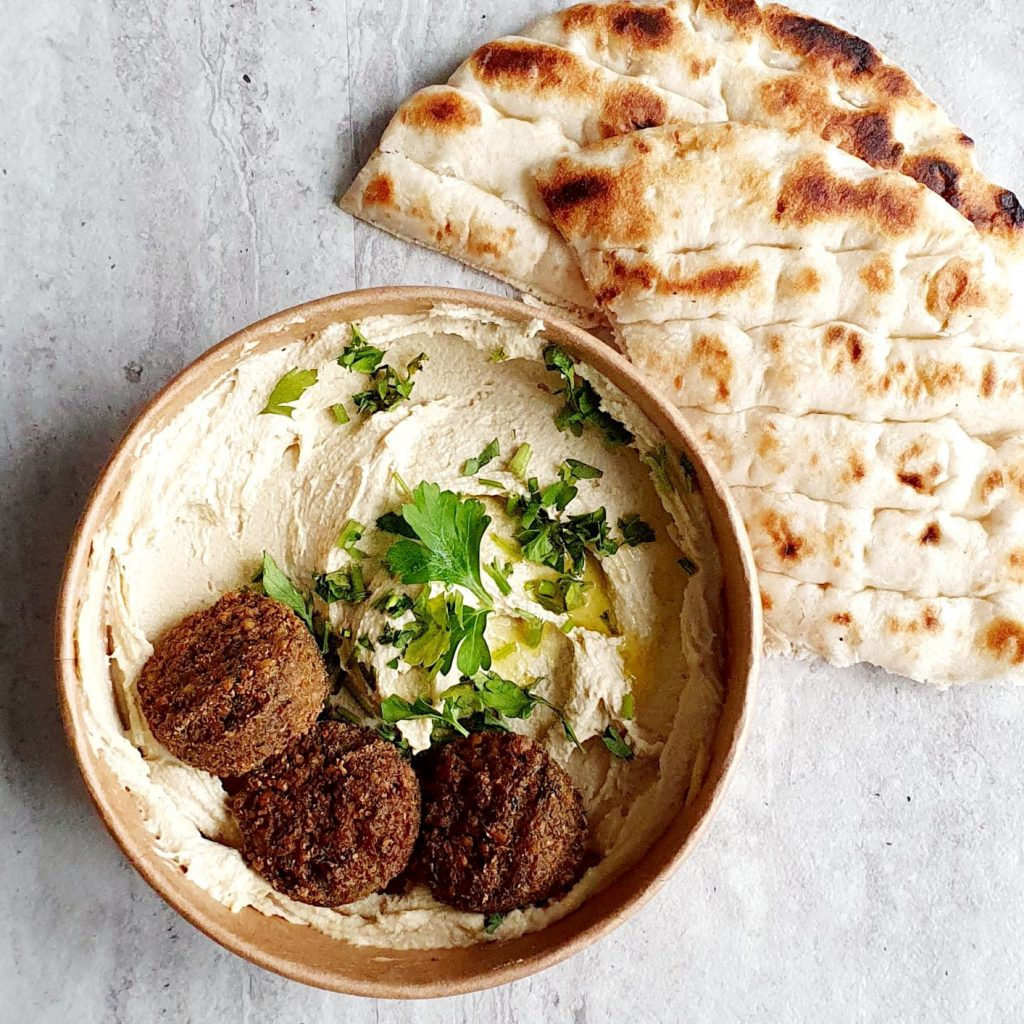 hummus i pita od Tel Aviv