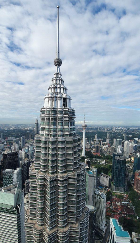 Petronas Towers widok z góry