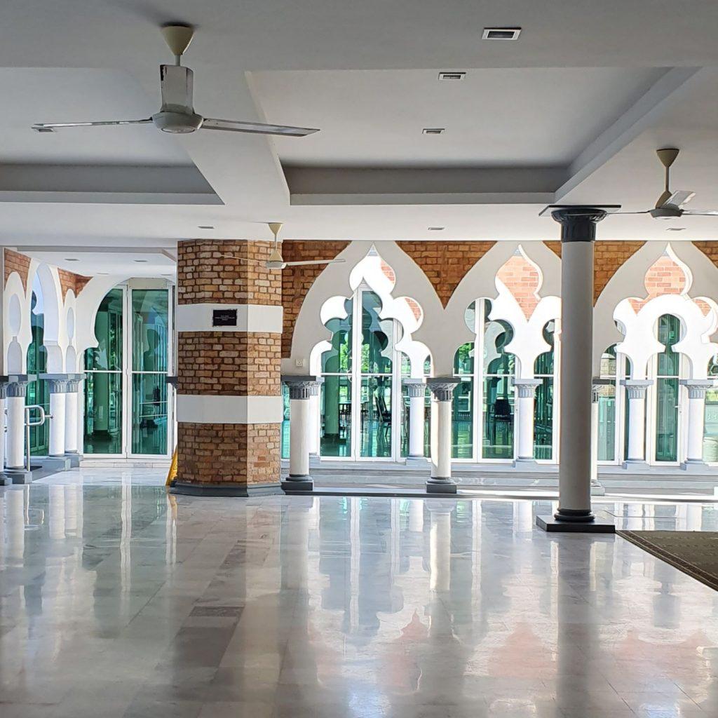 Wnętrze Meczetu Jamek