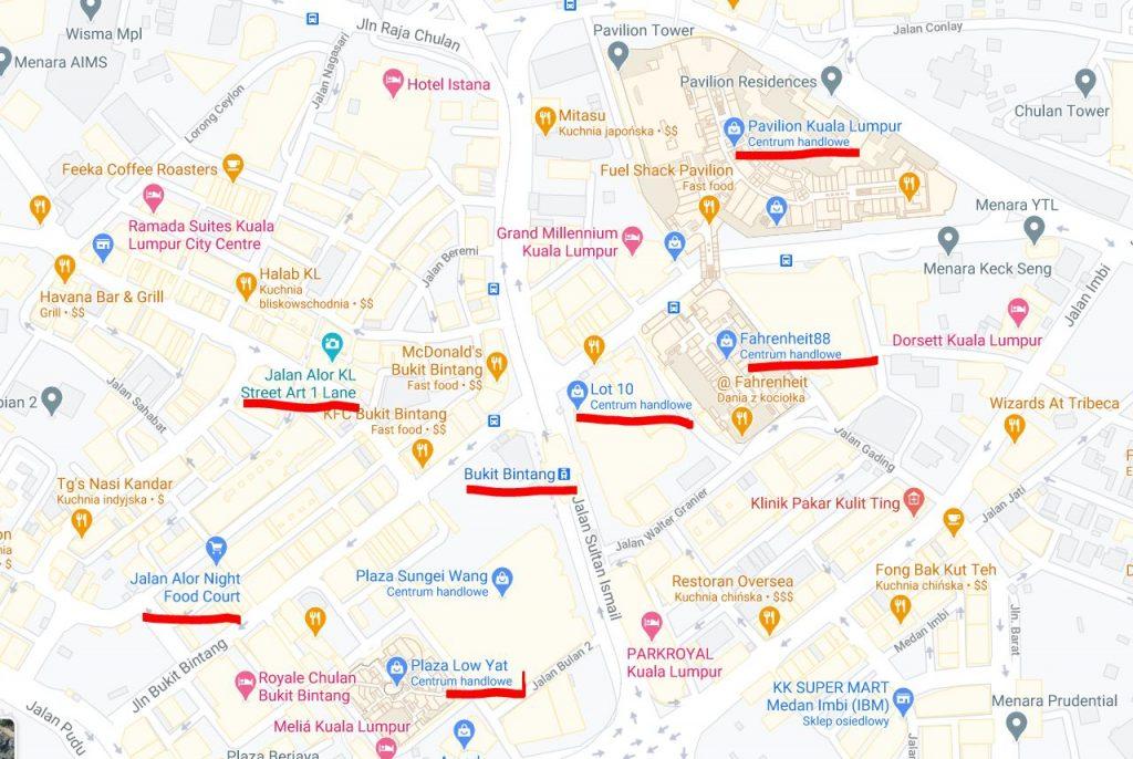 Mapa KL