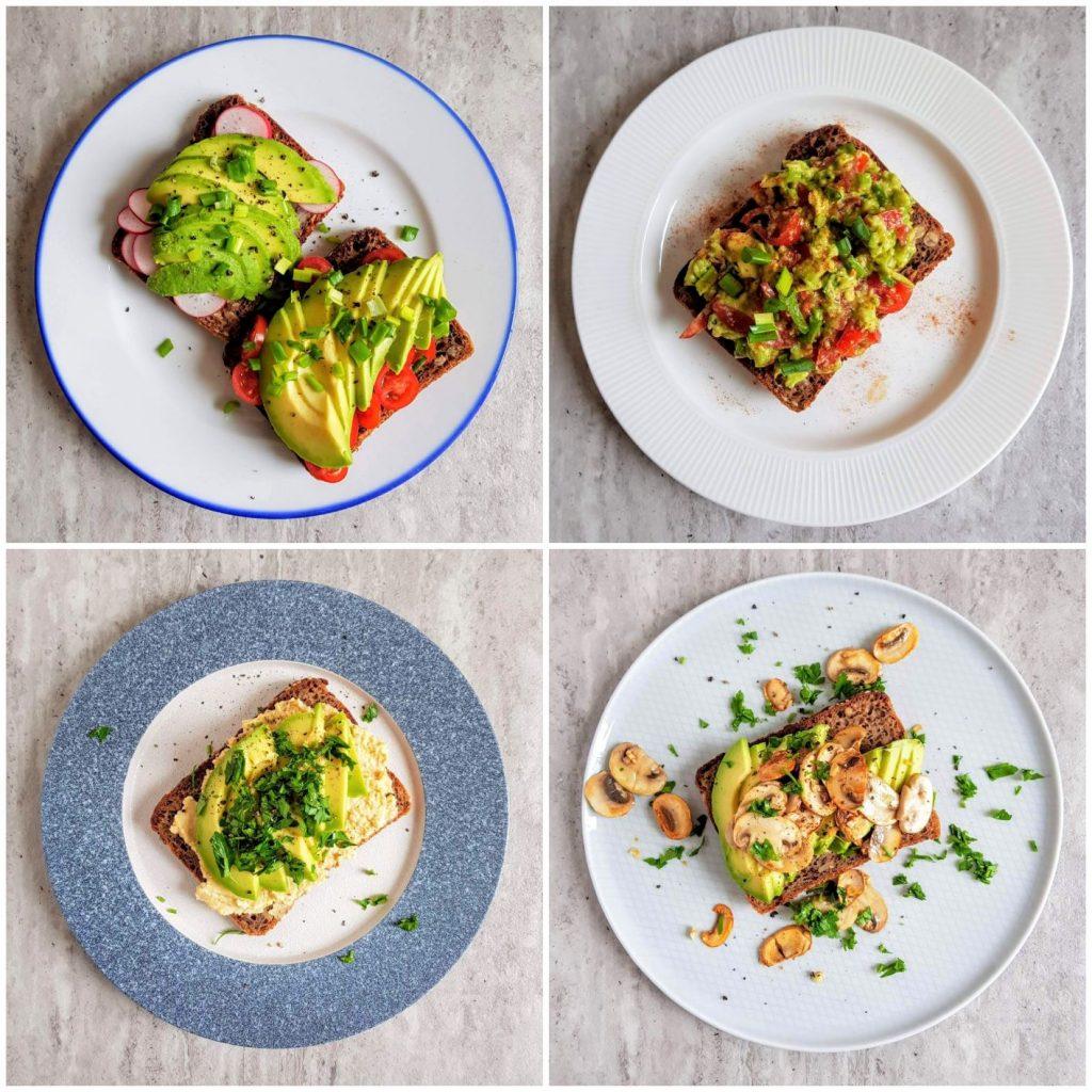 5 pomysłów na wytrawne tosty