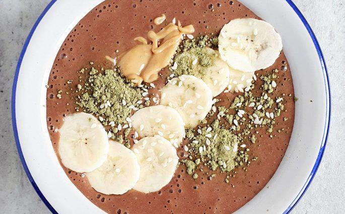 Orzechowo-kawowe smoothie