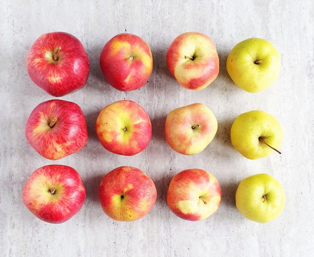marynowane jabłka