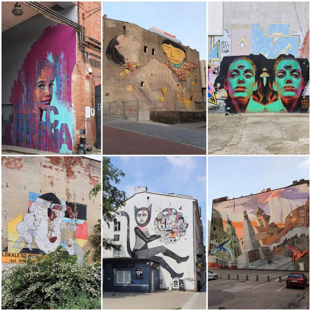 Murale w Łodzi 2021