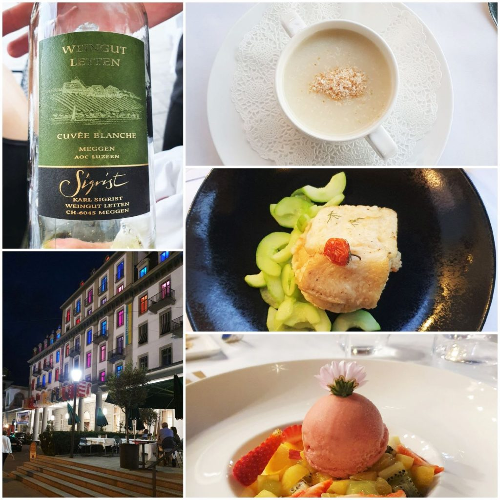 kolacja w Lucernie
