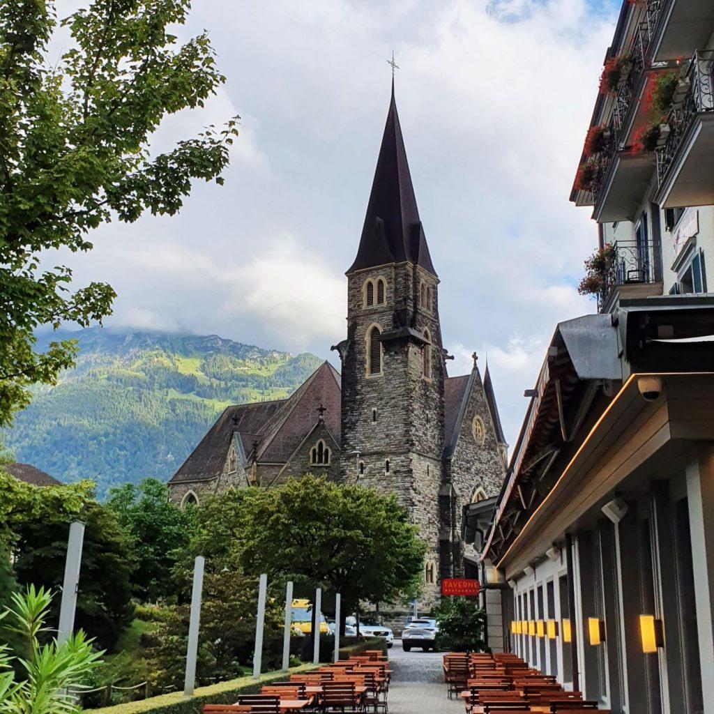 Kościół w Interlaken