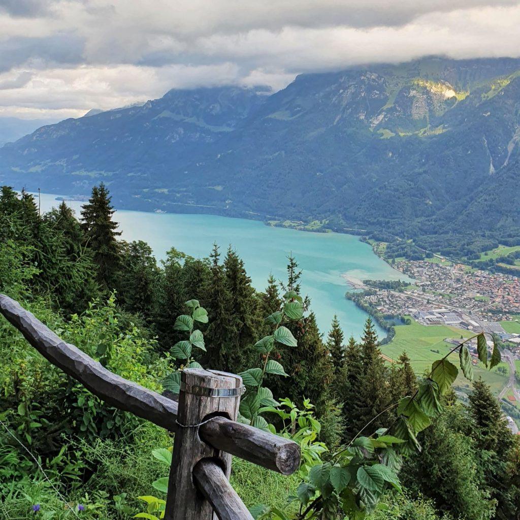 zobaczyć Interlaken z góry