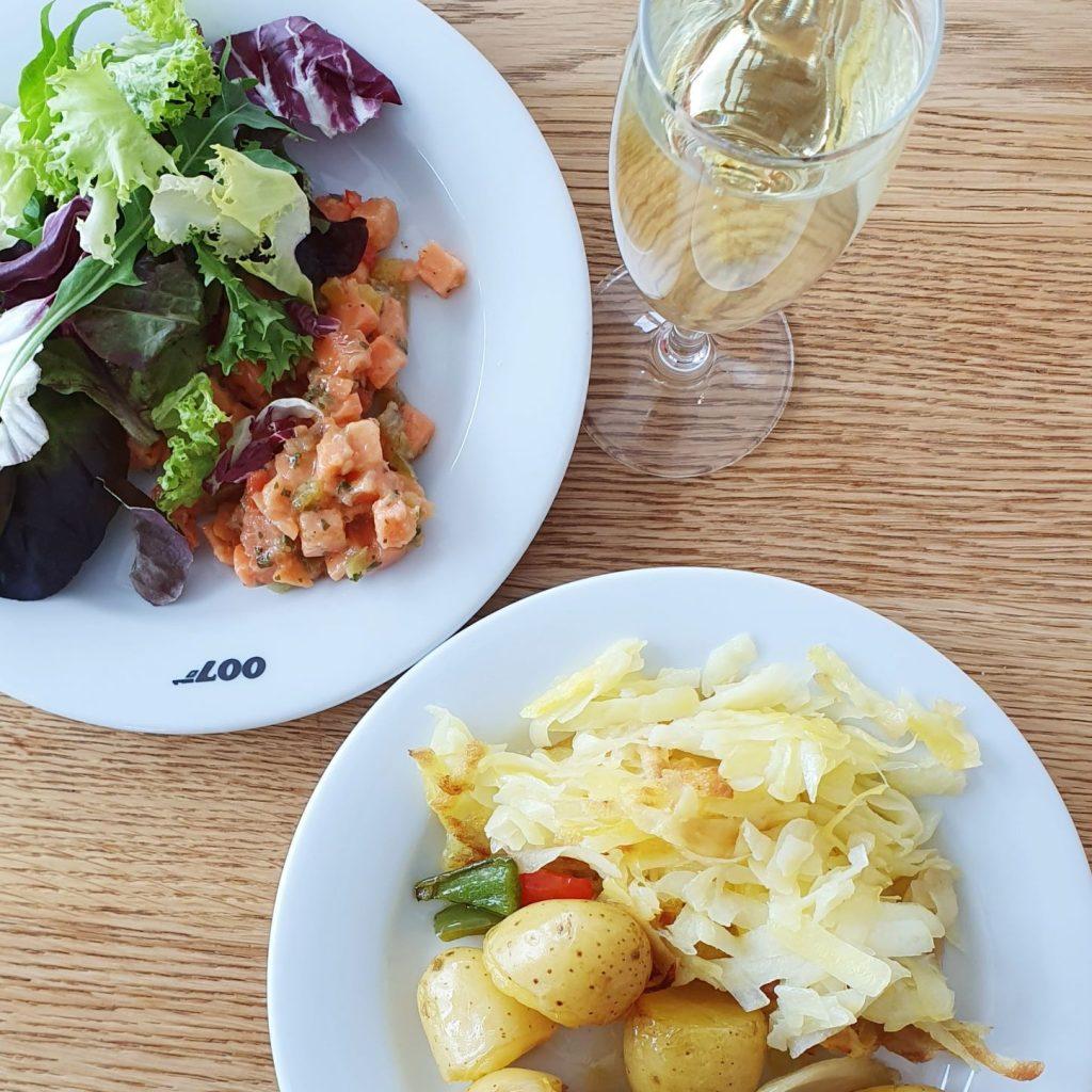 Obiad na Schilthorn