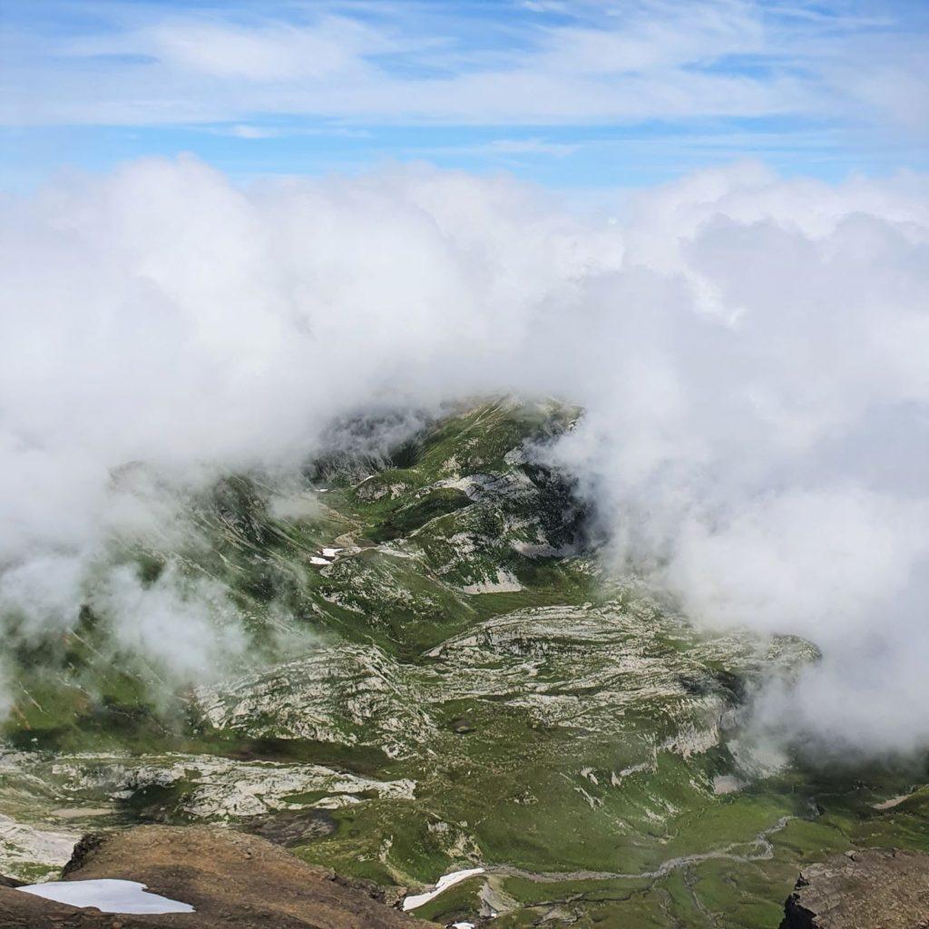 Wjazd na Schilthorn z lękiem wysokości